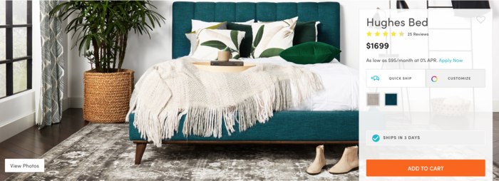 Which Luxury Online Furniture Stores Have the Best Ease of